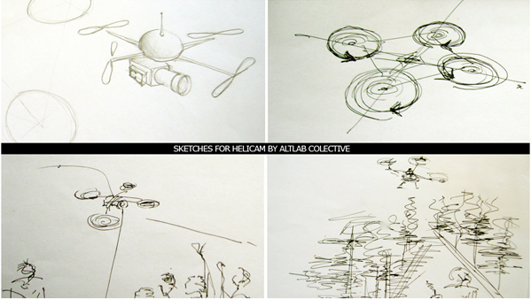Helicam Sketches