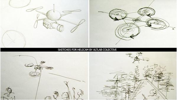 Helicam Sketches