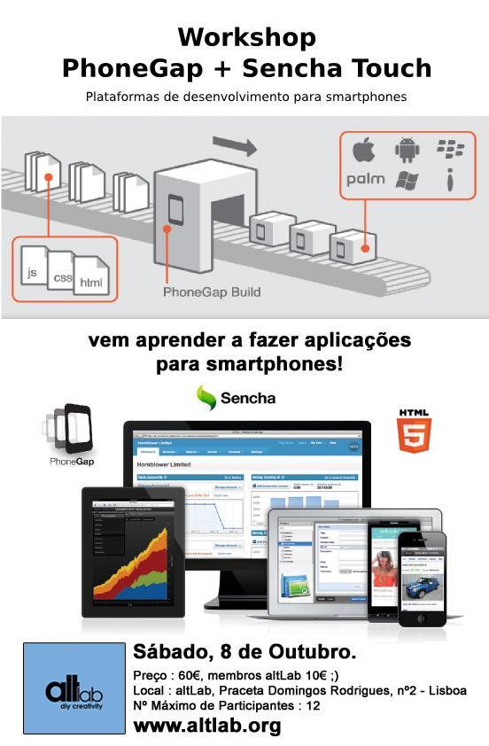Workshop Plataformas de Desenvolvimento para Smartphones