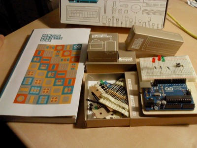 A vision of the Arduino Starter kit