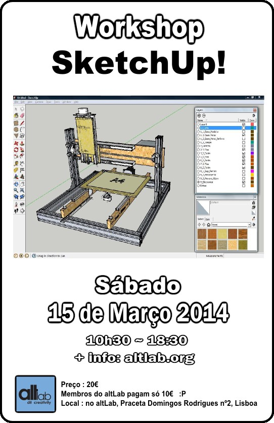 Workshop SketchUp!
