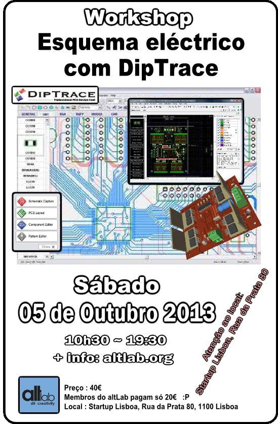 Workshop Esquema Eléctrico com DipTrace
