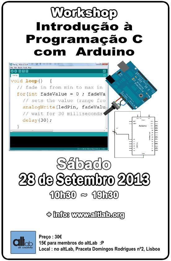 Workshops Introdução à Programação C com Arduino